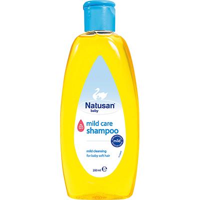 Natusan® Mild Care Shampoo vauvan hiusten puhdistukseen