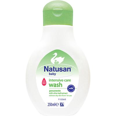 Natusan® Intensive Care Wash -pesuneste on kehitetty lapsille, joilla on kuiva iho